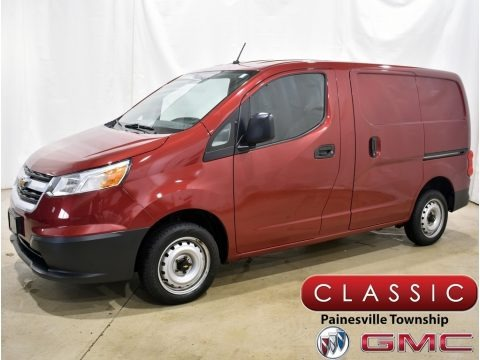 Furnace Red 2015 Chevrolet City Express LS