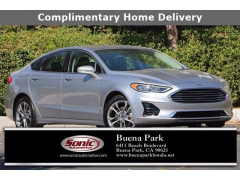 Iconic Silver 2020 Ford Fusion SEL