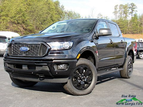 Shadow Black 2020 Ford Ranger XLT SuperCrew 4x4