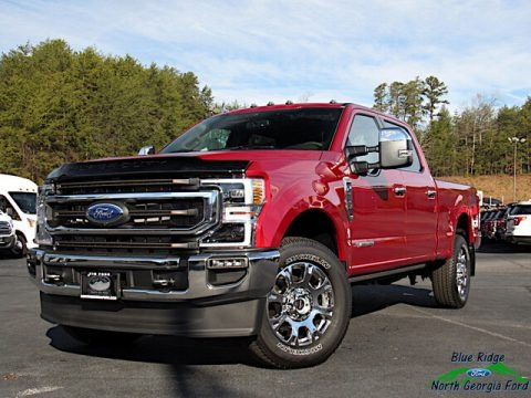 Rapid Red 2020 Ford F250 Super Duty King Ranch Crew Cab 4x4