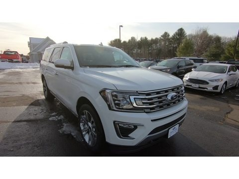 Star White 2020 Ford Expedition Limited Max 4x4