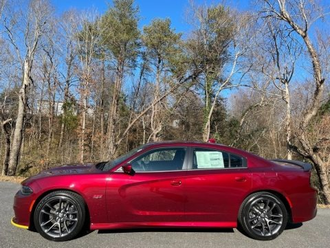 Octane Red Pearl 2021 Dodge Charger Scat Pack