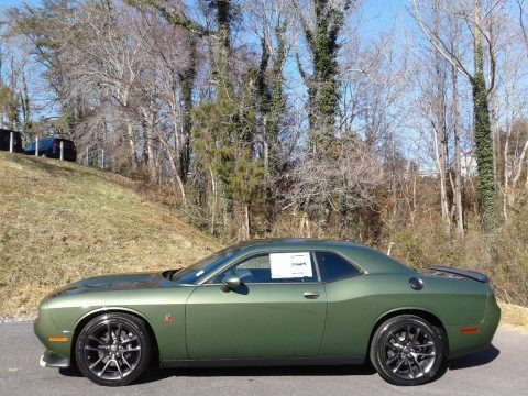 F8 Green 2021 Dodge Challenger R/T Scat Pack