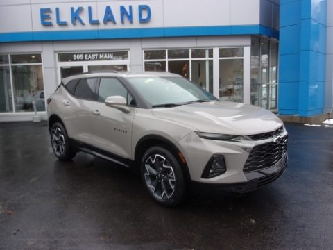 Pewter Metallic 2021 Chevrolet Blazer RS AWD