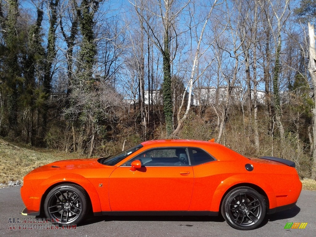 2021 Challenger R/T Scat Pack Widebody - Go Mango / Black photo #1