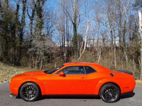 Go Mango 2021 Dodge Challenger R/T Scat Pack Widebody