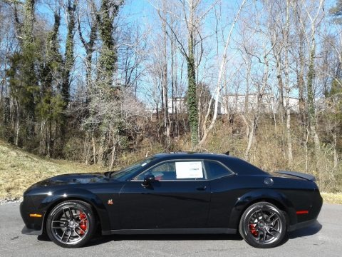 Pitch Black 2021 Dodge Challenger R/T Scat Pack Widebody