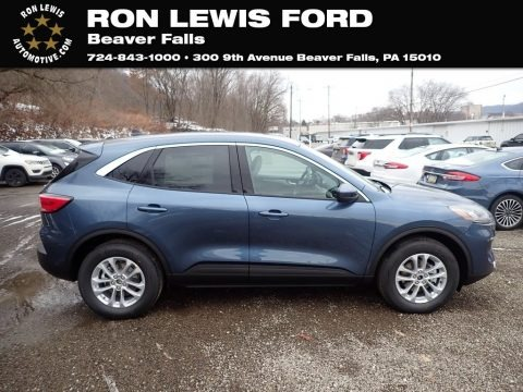 Blue Metallic 2020 Ford Escape SE 4WD