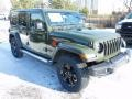 Jeep Wrangler Unlimited Sahara Altitude 4x4 Sarge Green photo #3