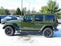 Jeep Wrangler Unlimited Sahara Altitude 4x4 Sarge Green photo #9