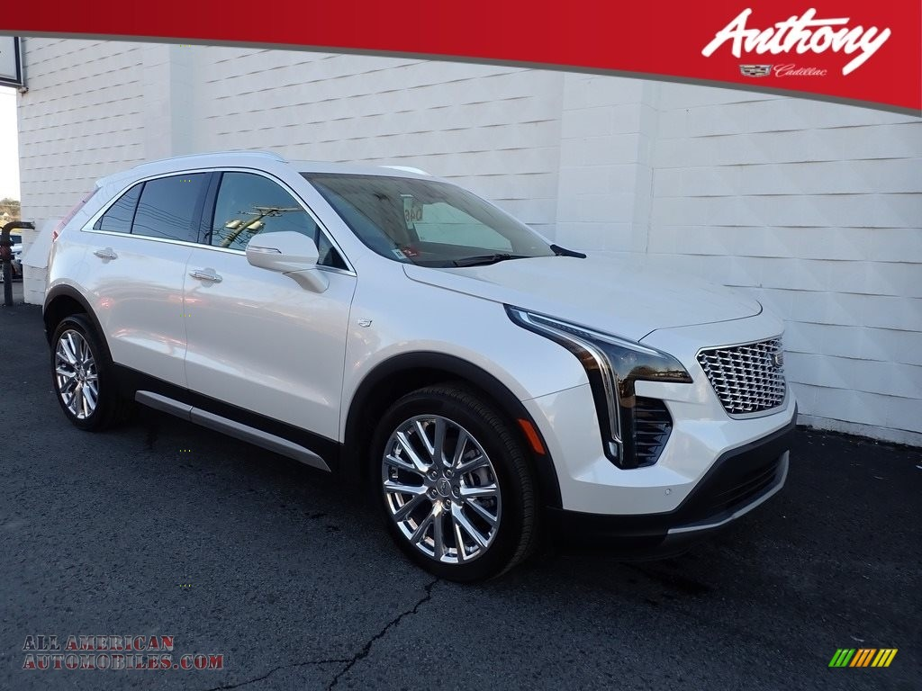 2021 XT4 Premium Luxury AWD - Crystal White Tricoat / Jet Black photo #1