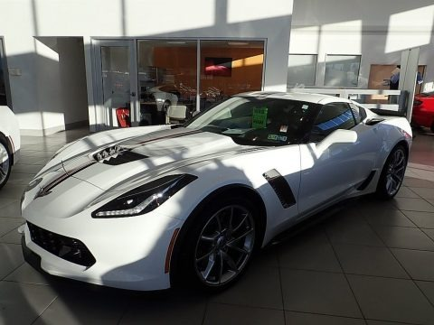 Arctic White 2017 Chevrolet Corvette Z06 Coupe