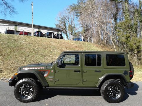 Sarge Green 2020 Jeep Wrangler Unlimited Rubicon 4x4