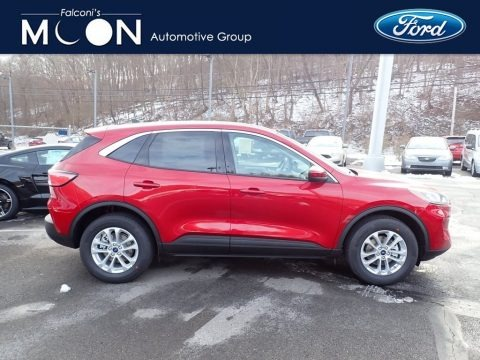 Rapid Red Metallic 2020 Ford Escape SE 4WD