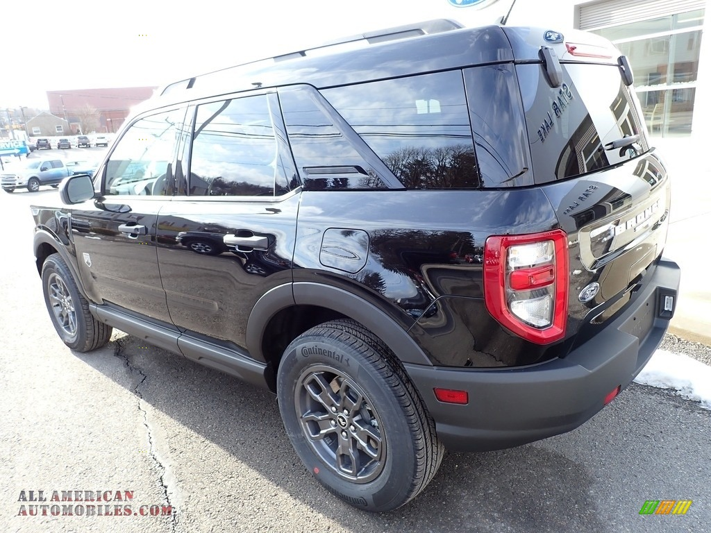 2021 Bronco Sport Big Bend 4x4 - Shadow Black / Medium Dark Slate photo #3