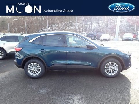 Dark Persian Green Metallic 2020 Ford Escape SE 4WD
