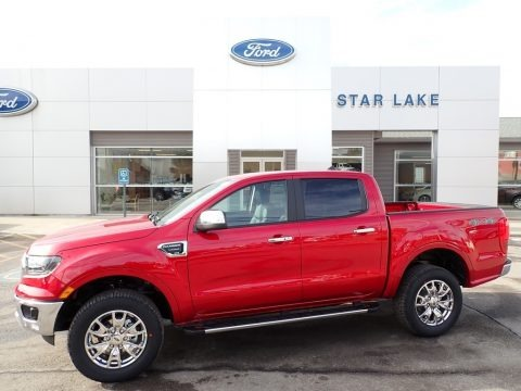 Rapid Red Metallic 2021 Ford Ranger Lariat SuperCrew 4x4