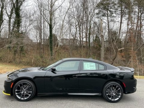 Pitch Black 2021 Dodge Charger R/T