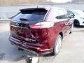 Ford Edge Titanium AWD Burgundy Velvet Metallic Tinted photo #2