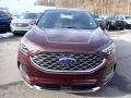 Ford Edge Titanium AWD Burgundy Velvet Metallic Tinted photo #4