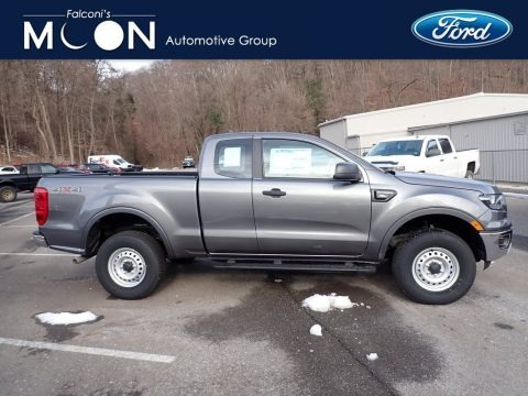 Carbonized Gray Metallic 2021 Ford Ranger XL SuperCab 4x4