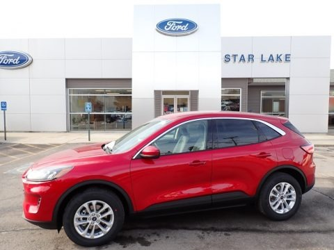 Rapid Red Metallic 2020 Ford Escape SE