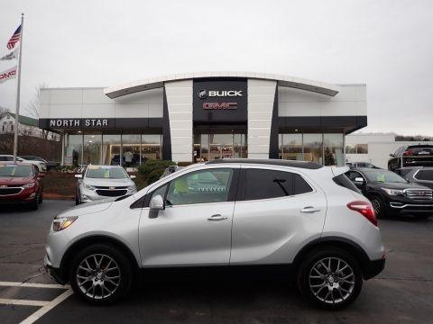 Quicksilver Metallic 2018 Buick Encore Sport Touring