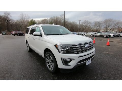 Star White 2021 Ford Expedition Limited Max 4x4