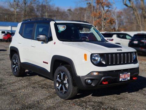 Alpine White 2021 Jeep Renegade Trailhawk 4x4