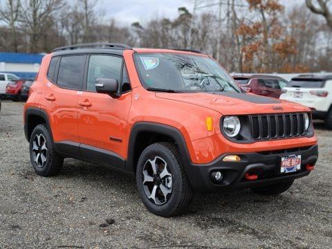 Omaha Orange 2021 Jeep Renegade Trailhawk 4x4