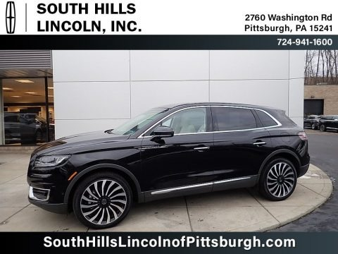 Infinite Black 2020 Lincoln Nautilus Black Label AWD
