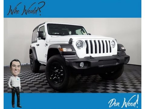 Bright White 2021 Jeep Wrangler Sport 4x4