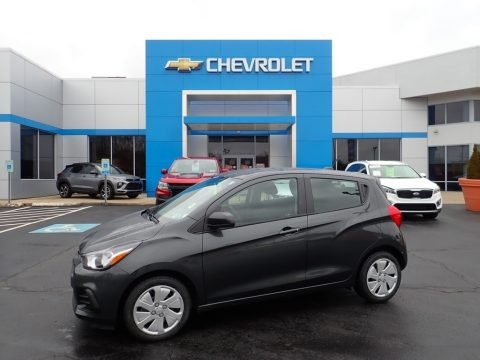 Nightfall Gray Metallic 2017 Chevrolet Spark LS