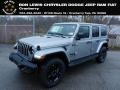 Jeep Wrangler Unlimited Sahara Altitude 4x4 Billet Silver Metallic photo #1