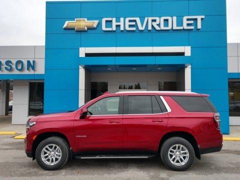Cherry Red Tintcoat 2021 Chevrolet Tahoe LS 4WD