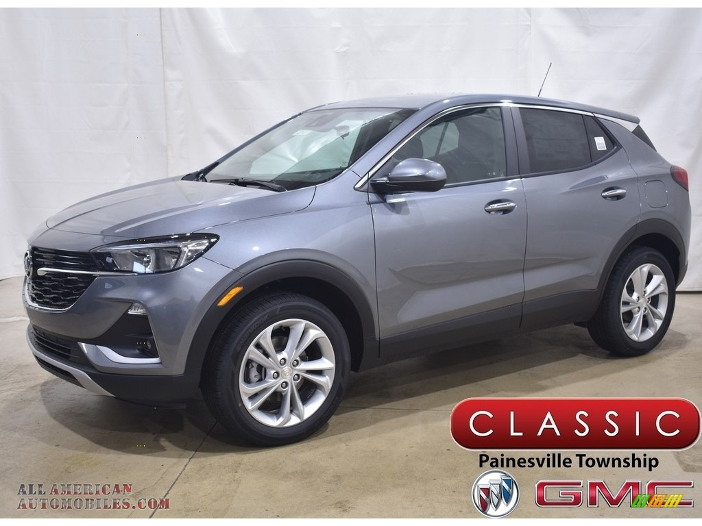 2021 Encore GX Preferred AWD - Satin Steel Metallic / Ebony photo #1