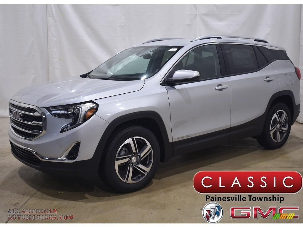 2021 Terrain SLT AWD - Quicksilver Metallic / Jet Black photo #1