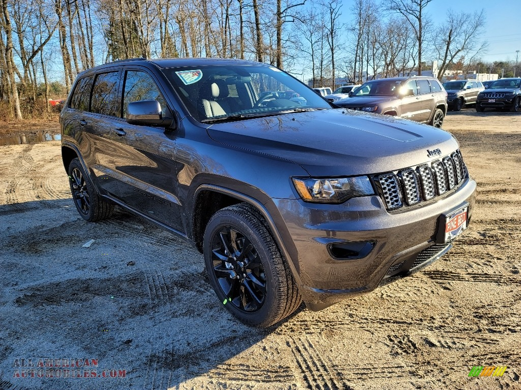 2021 Grand Cherokee Laredo 4x4 - Granite Crystal Metallic / Black photo #1