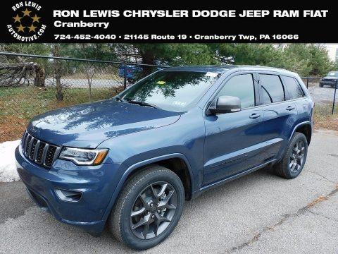Slate Blue Pearl 2021 Jeep Grand Cherokee Limited 4x4