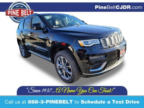 Diamond Black Crystal Pearl 2021 Jeep Grand Cherokee Summit 4x4