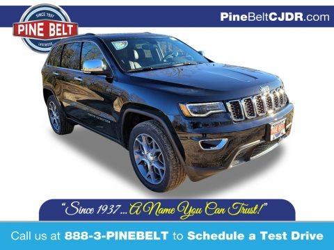 Diamond Black Crystal Pearl 2021 Jeep Grand Cherokee Limited 4x4