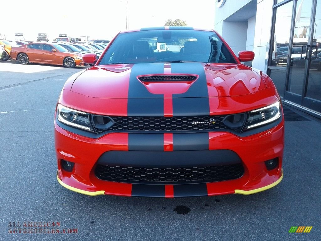 2021 Charger Scat Pack - Torred / Black/Ruby Red photo #4