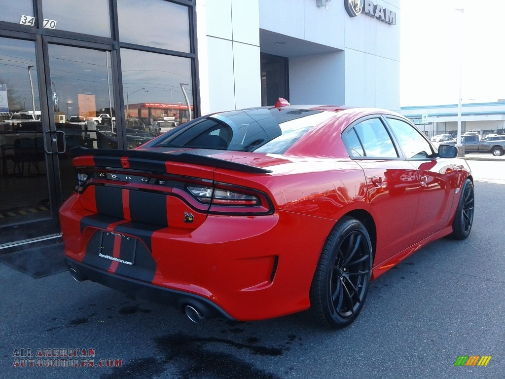2021 Charger Scat Pack - Torred / Black/Ruby Red photo #7