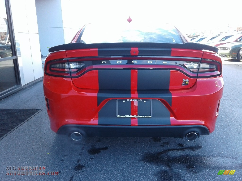 2021 Charger Scat Pack - Torred / Black/Ruby Red photo #8
