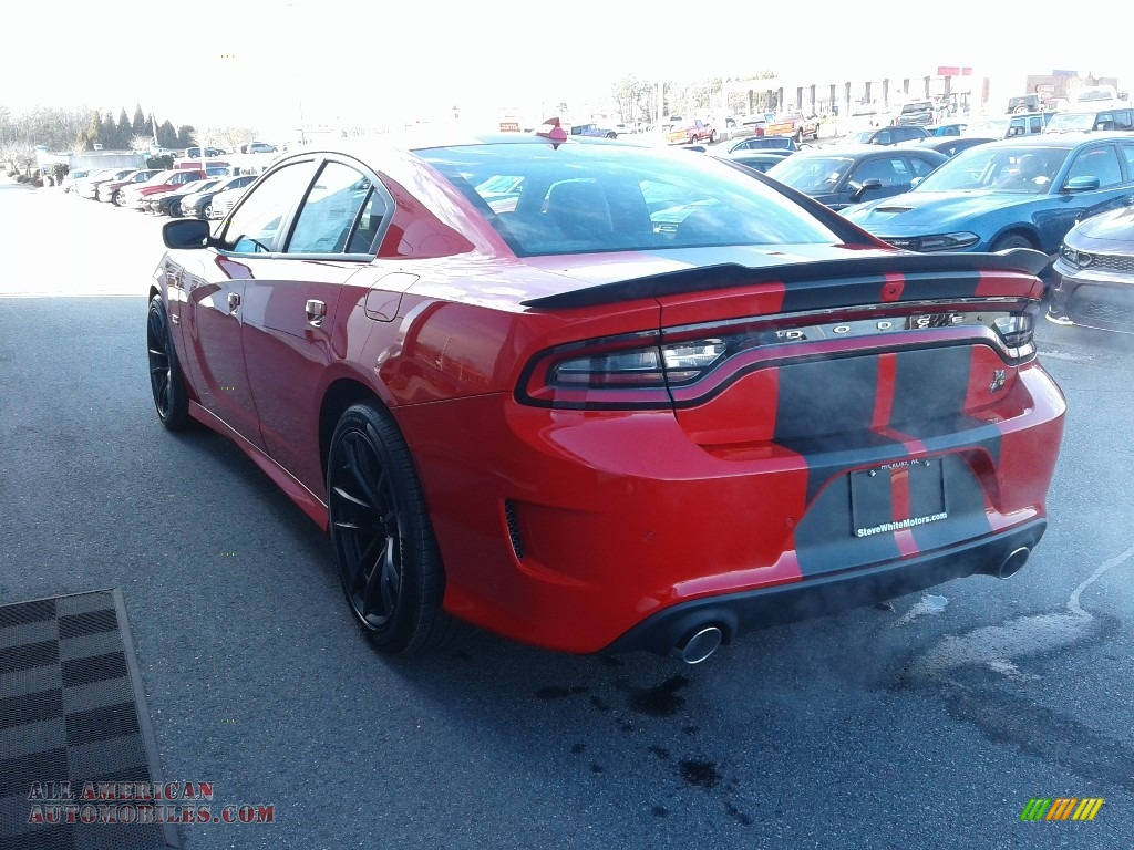 2021 Charger Scat Pack - Torred / Black/Ruby Red photo #9
