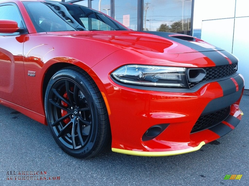 2021 Charger Scat Pack - Torred / Black/Ruby Red photo #12