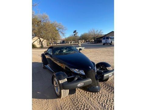 Prowler Black 2000 Plymouth Prowler Roadster