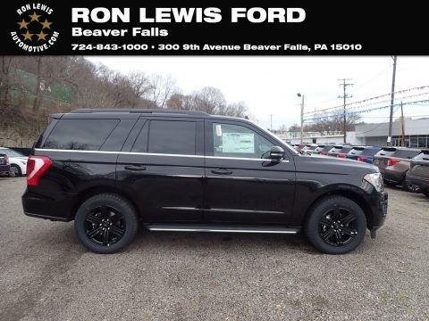 Agate Black 2020 Ford Expedition XLT 4x4