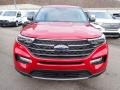Ford Explorer XLT 4WD Rapid Red Metallic photo #4