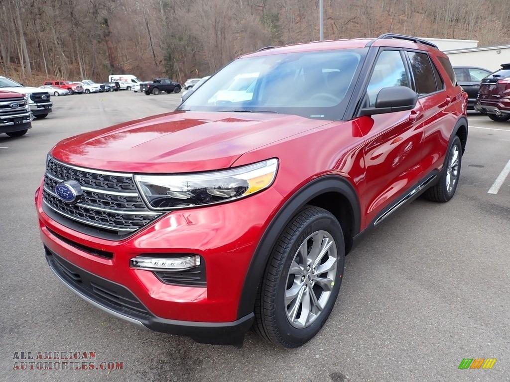 2021 Explorer XLT 4WD - Rapid Red Metallic / Ebony photo #5